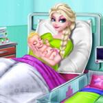 إلسا وجاك حب ولادة الطفل
