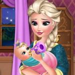 الاعتناء بطفل السا الرضيع