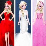 إلسا ستايل فستان الزفاف المختلف