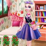أزياء زهرة إلسا