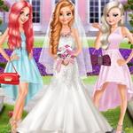 المجمدة واريل وصيفات العروس