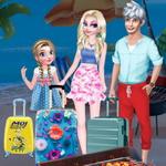 عطلة الصيف العائلة المجمدة
