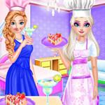 الأخوات المجمدة الطبخ بعد الظهر الشاي