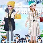 الأخوات المجمدة السفر إلي القطب الجنوبي