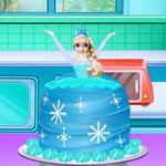 كيف تصنع كعكة الاميرة المجمدة