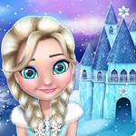 بيت الدمية اميرة الثلج