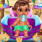 رعاية طفل موانا حديث الولادة