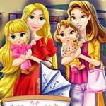 الأميرة الأم والذهاب للتسوق