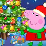 الخنزير بيبا تزيين شجرة راس السنة