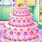 الأميرة آنا الطبخ الكعكة