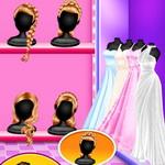 الاميرة إعداد زفاف الزوجين