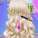 الاميرة تصميم قصة شعر مختلفة