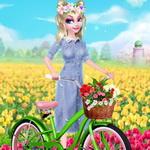 الأميرة إلسا في الربيع