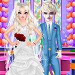 الأميرة إلسا إعداد الزفاف
