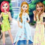 فستان الازهار