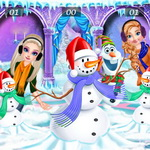 الأميرات وأولاف ستايل فصل الشتاء