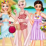 الأميرات اللباس الاتجاه لهواي