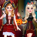 الأميرات عيد هالوين سعيد