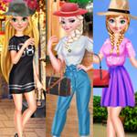 الأميرات ملابس كاجوال الربيع