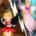 رابونزيل الشيطان وملابس الملاك
