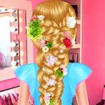 رابونزيل تصميم شعر الزفاف