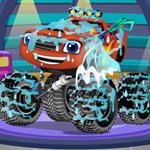 اصلاح blaze monster truck