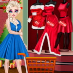 الاخوات تسوق عيد الميلاد