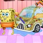 غسيل وديكور سيارة سبونج بوب