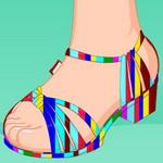 تصميم أحذية ليتل ميرميد