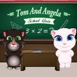 توم وأنجيلا اختبار المدرسة